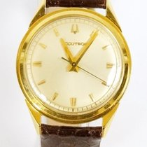 Men's 18 k Yellow Solid Gold ACCUTRON Watch35 MM, Tuning...