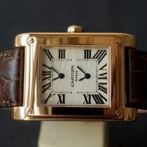 까르띠에 (Cartier) Paris Tank à vis DUAL TIME 2594
