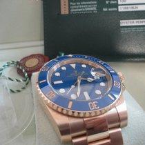Rolex Submariner Keramik LC100 18K Blau Blue