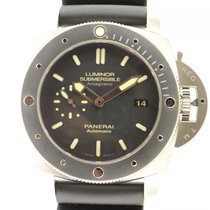 Panerai Luminor Submersible Pam 389 Titanium Amagnetic 47mm...