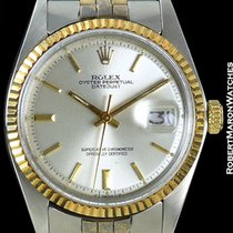 Rolex Datejust Unpolished 18k/steel 1601