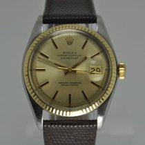 Rolex Oyster Perpetual Datejust Gold/Steel Pie Pan Dial Ref....