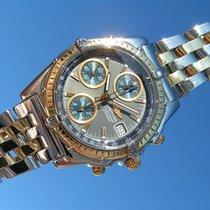 Breitling Chronomat Gt B 13350 Mit Goldlünette Und Stahl Gold...