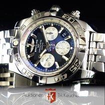 Breitling Chronomat 44 Edelstahl Full Set AB0110 Manufakturkal...
