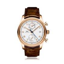 IWC Schaffhausen Portugieser Chronograph Classic Rose Gold...