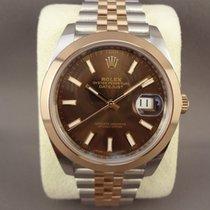 Rolex Datejust II 126301 steel/pink gold Chocolate/Jubilee