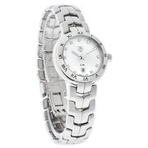 TAG Heuer Link Ladies Diamond White Swiss Quartz Watch...