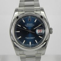 Rolex DATEJUST BLU INDEX DIAL OYSTER