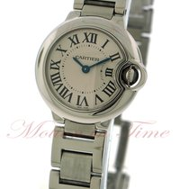 Cartier Ballon Bleu Small, Silver Dial - Stainless Steel on...