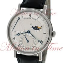 Breguet Classique Power Reserve Moonphase, Silver Dial - White...