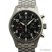 IWC Fliegeruhr Chronograph Edelstahlband(NEW)