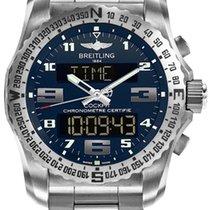 Breitling EB501019/C904/176E Cockpit 46 Titanium Men's Watch