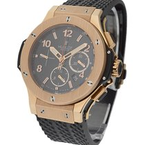 Hublot 301.PX.130.RX Big Bang in Rose Gold - on Black Rubber...