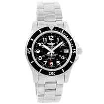 Breitling Superocean Ii 36 Black Dial Automatic Ladies Watch...