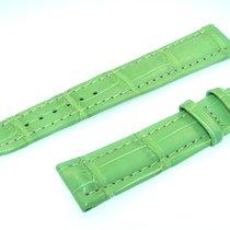 Breitling Tradema Band 20mm Croco Grün Green Verde Strap Für...