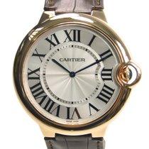 Cartier Ballon Bleu 18k Rose Gold Silvery White Manual Wind...