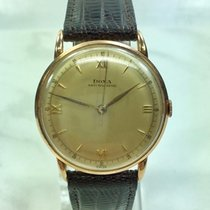 Doxa 14 Kt Rose Gold Dress Watch Vintage