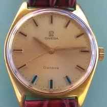 Omega - Genève Placcato Oro 20 Microns 1968 Dial Champagne -...