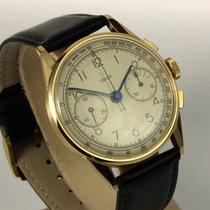 Jaeger-LeCoultre bildschöner Vintage Chronograph 18K Gold ,...