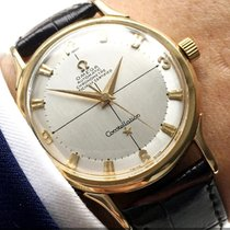 Omega Wonderful Pie Pan Constellation Solid Gold Automatik...