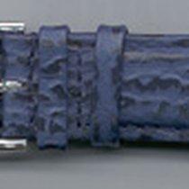 Leder-Armband 20mm Farbe: blau