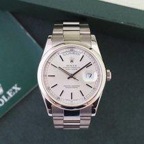 Rolex Day-Date Ref. 118209 18K White Gold Oyster Bracelet