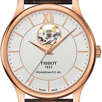 Tissot T-Classic Tradition Powermatic 80 Open Heart T063.907.3...