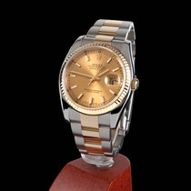 Rolex Oyster Perpetual Datejust Steel and Gold Men Size