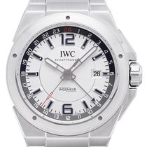 IWC Ingenieur Dual Time  in Edelstahl mit Edelstahlarmband