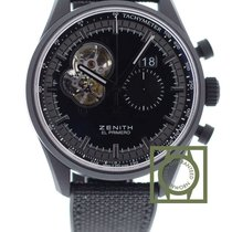 Zenith El Primero Chronomaster Night Vision 45mm Ceramic NEW