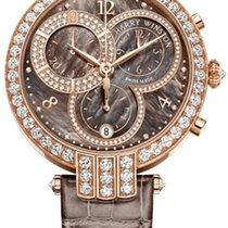 Harry Winston Premier Chronograph 18K Rose Gold & Diamonds...
