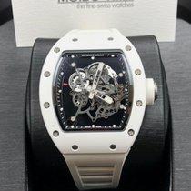 Richard Mille RM55 Bubba Watson White ATZ Ceramic [NEW]