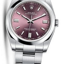 Rolex Oyster Perpetual 116000 36MM RED GRAPE