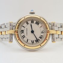 Cartier Panthere Ronde 18k Gold Steel One Gold Line