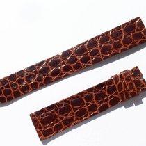 萧邦 (Chopard) Croco Armband Braun Brown 18 Mm Für Dornschliesse...
