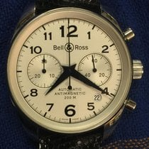 Bell & Ross Chronograph Br 126 Vintage 40 mm bracelet steel
