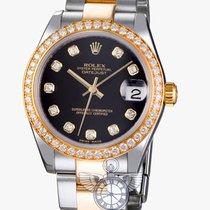 Rolex 178383 Datejust 31MM Black Diam