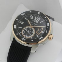 Cartier Calibre de Cartier Diver W7100055 Two Tone Ceramic NEW