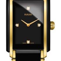 Rado Integral Diamonds schwarz Keramik Edelstahl/PVD -NEU-