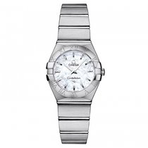 Omega Constellation  Stainless Steel Ladies watch 123.10.24.60...