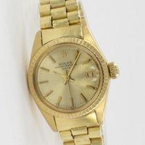 Rolex Lady Datejust Gelbgold 6917