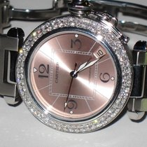 Cartier Pasha 36mm Automatic Diamonds