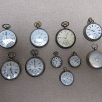 10 antique silver pocket watches for repair