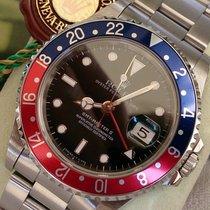 Rolex GMT II ST REF 16710 +B & P WIE NEU REVI +GA+TRITIUM...