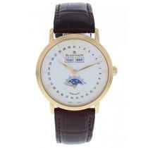 Blancpain Villeret 6263A-3642 18k Rose Gold Complete Calendar...