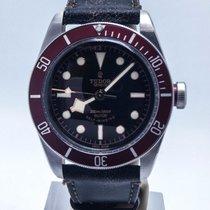 Tudor Blackbay 41mm Red Bezel Distressed Strap Complete Set...