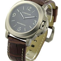 Panerai PAM 00176 PAM 176 - Titanium Base Mens Mechanical -...