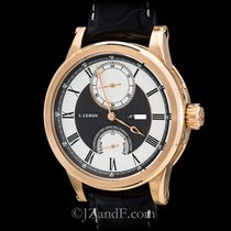 L.Leroy Men's Watch Marine Automatic Deck Chronometer 18K Rose...