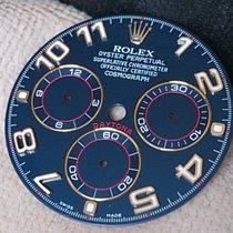 Rolex DAYTONA Zifferblatt # SLATE ARAB BLUE # 116528 # NEU