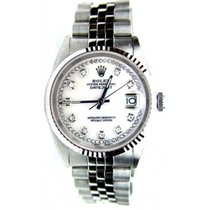 Rolex Datejust Men's Model 16234 Stainless Steel Jubilee...